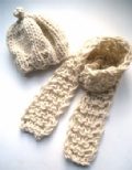 [Beanie Hat and Scarf - click to enlarge]